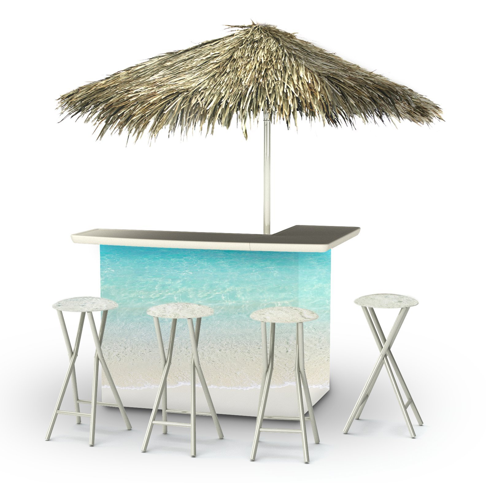Best of Times 2003W2305P Sand BAR-PALAPA, One Size Blue