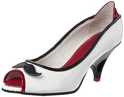 buy online f4667 5bc45 Lola Ramona Damen Peeptoe Pumps: Amazon.de: Schuhe & Handtaschen