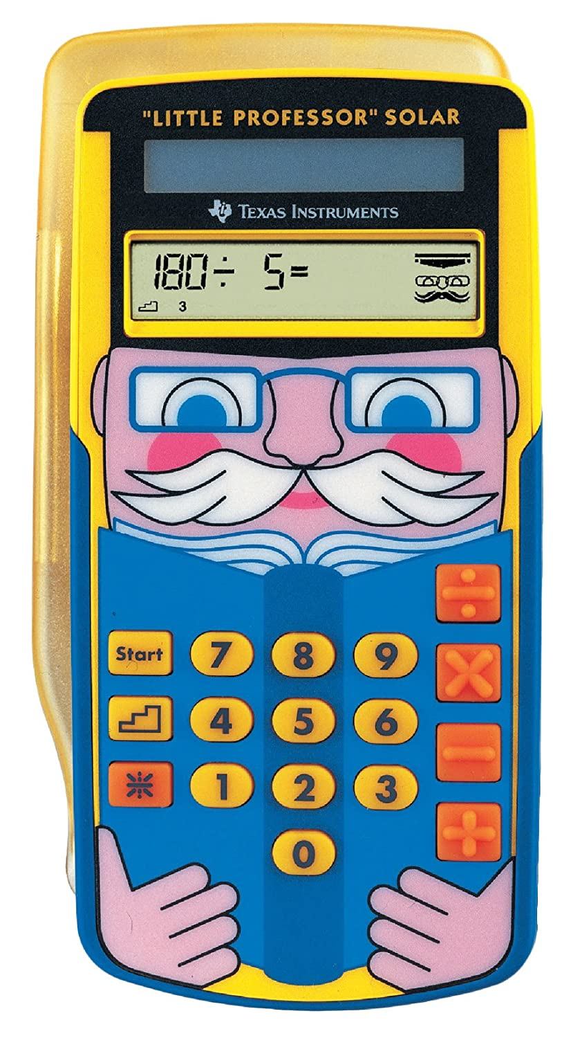 Texas Instruments LPROFSOLAR Little Professor Solar Calculator OfficeCentre B0091IBOJS