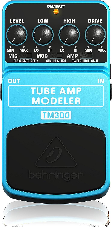 Behringer TM300 Ultimate Tube Amp Modeling Effects Pedal