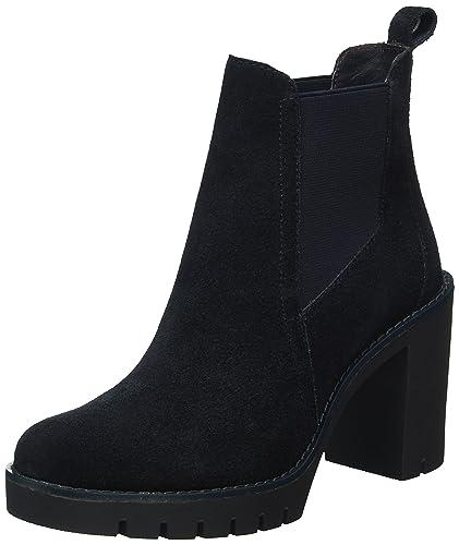 P1285aola 1b - Zapatos de Tacón con Punta Cerrada Mujer, Azul - Blau (Midnight 403), 40 Tommy Hilfiger