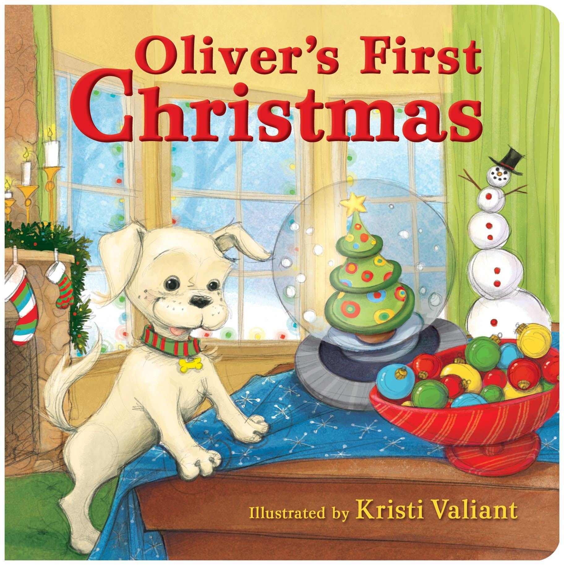 Download Oliver's First Christmas pdf