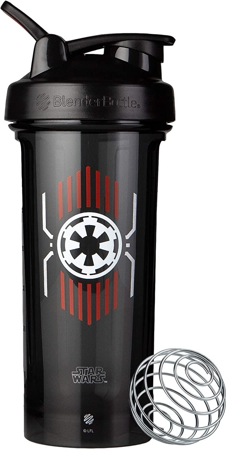 BlenderBottle Star Wars Pro Series 28-Ounce Shaker Bottle, Empire Badge