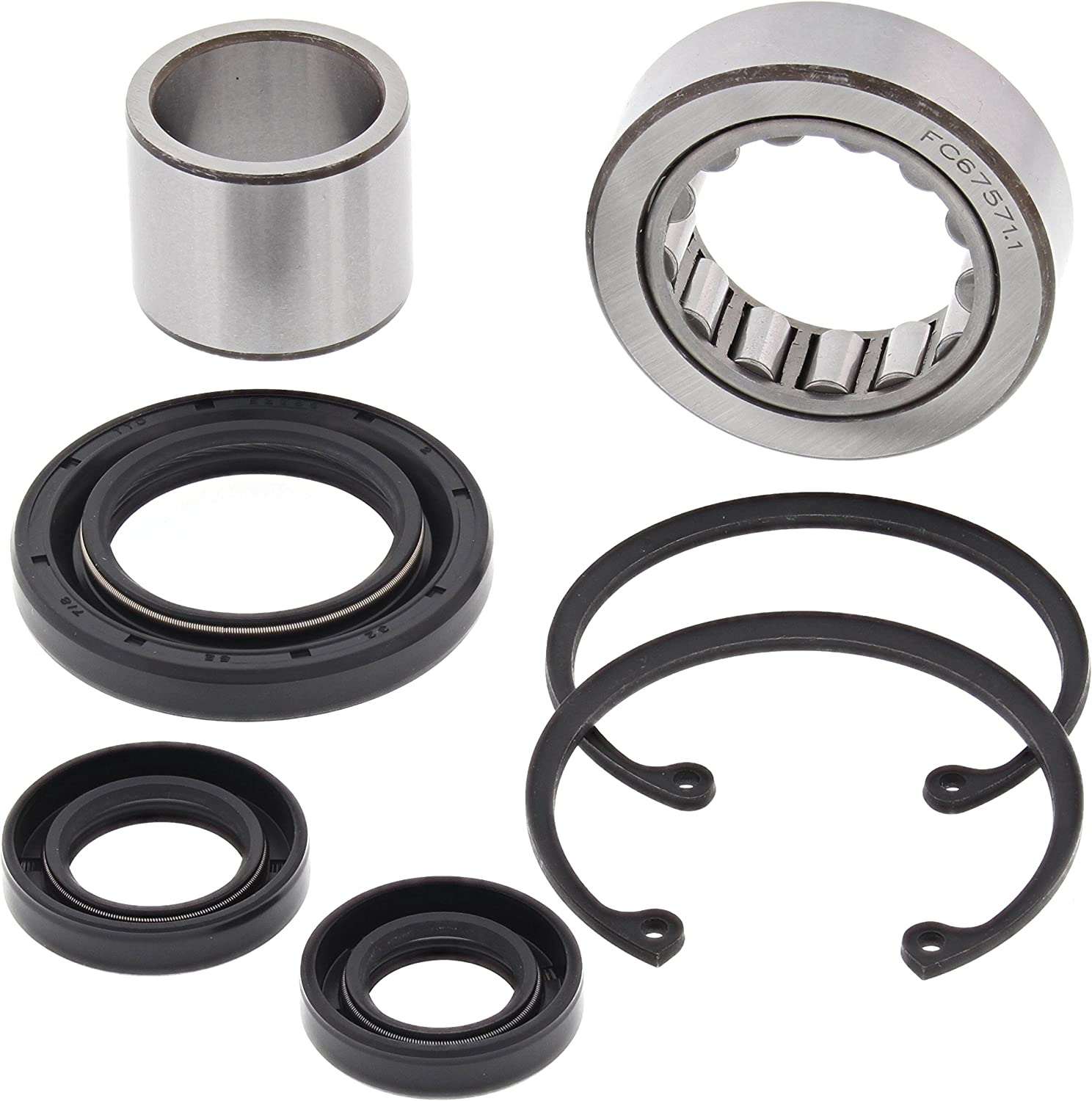 All Balls Inner Primary Bearing /& Seal Kit For HD Big Twin 08-16 25-3103