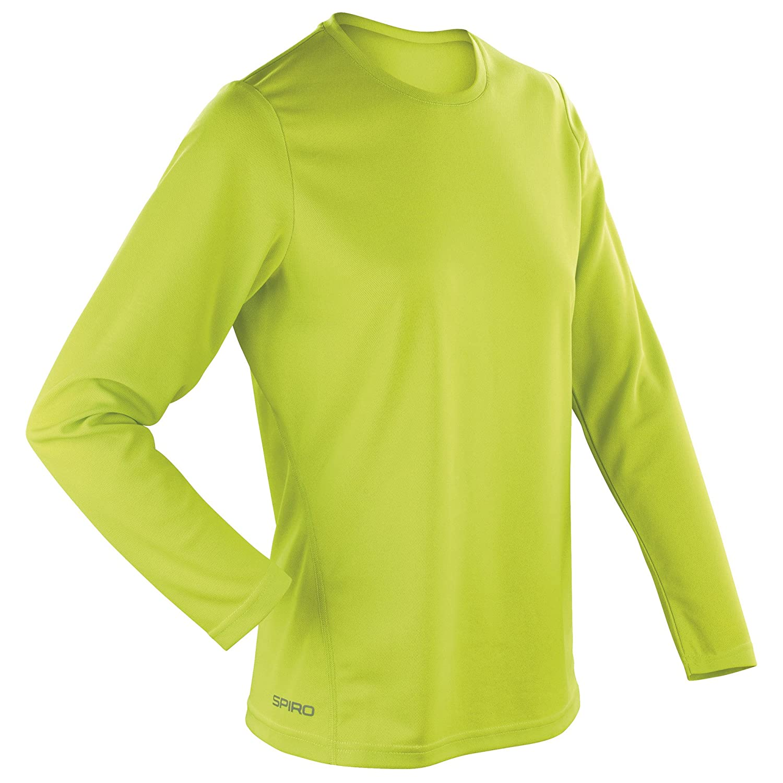 Spiro Ladies/Womens Sports Quick-Dry Long Sleeve Performance T ...