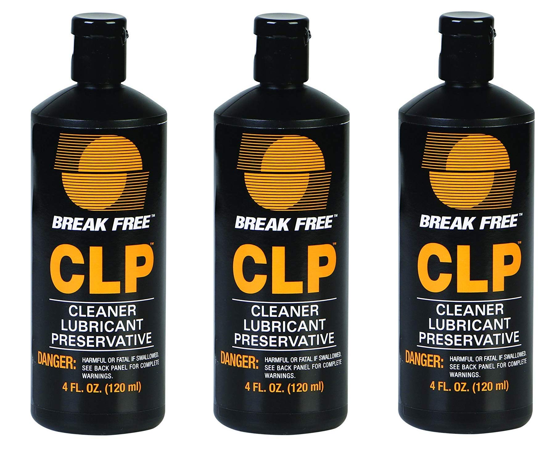 BreakFree CLP-4 Cleaner Lubricant Preservative Squeeze Bottle (4 -Fluid Ounce) (Тhrее Pаck)