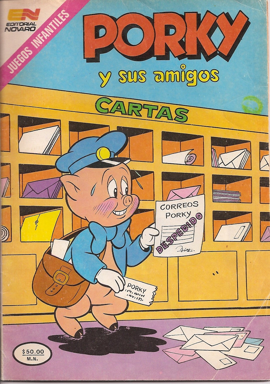 Porky y Sus Amigos (Spanish Edition) (Comic Book): Amazon ...