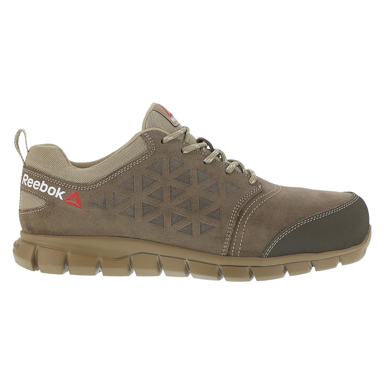 Reebok WORK ib1033 S1P 40 Excel Excel Excel Light Athletic Sicherheit Trainer Schuh Aluminium Fuß Wildleder Obermaterial Leder Größe 40 taupe 8a8f22