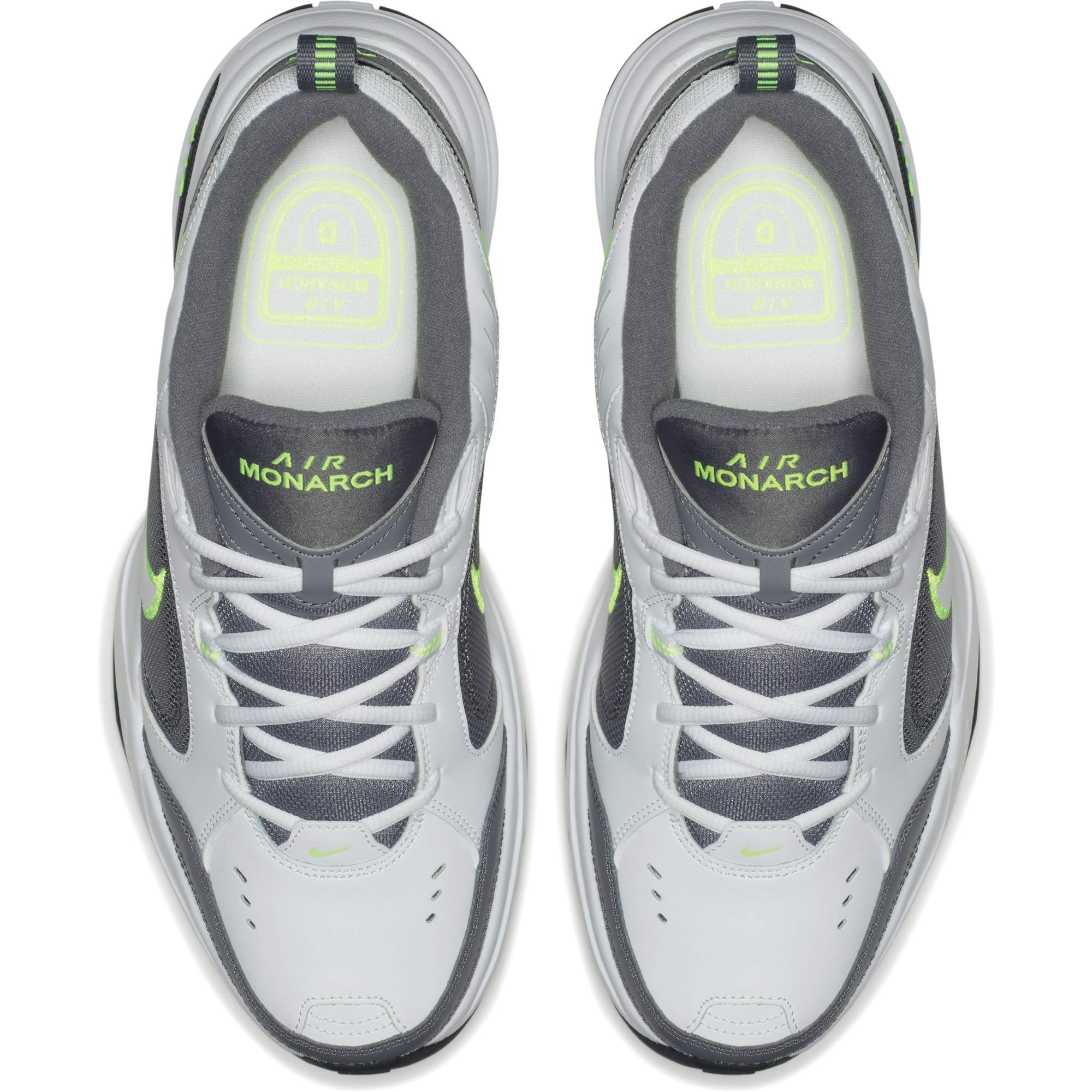 Nike Men's Air Monarch IV Cross Trainer, White-Cool Grey-Anthracite, 6.5 Regular US by Nike (Image #10)