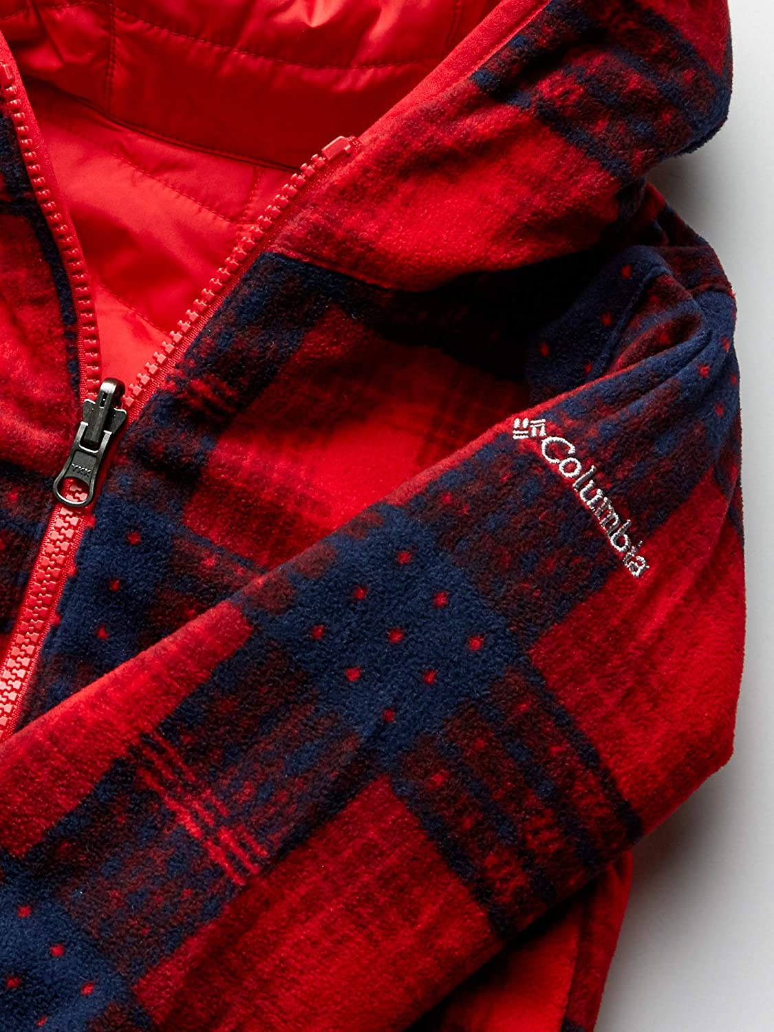 Mountain red//Mountain red Plaid 4T Columbia Kids Toddler Double Trouble Jacket