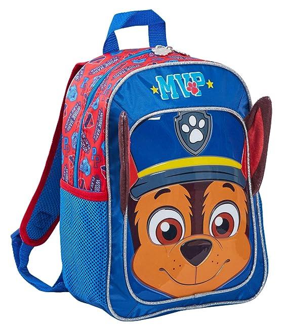 Paw Patrol Boys Marshall 3D Plush Soft Red Backpack Rucksack School Bag Kid Gift
