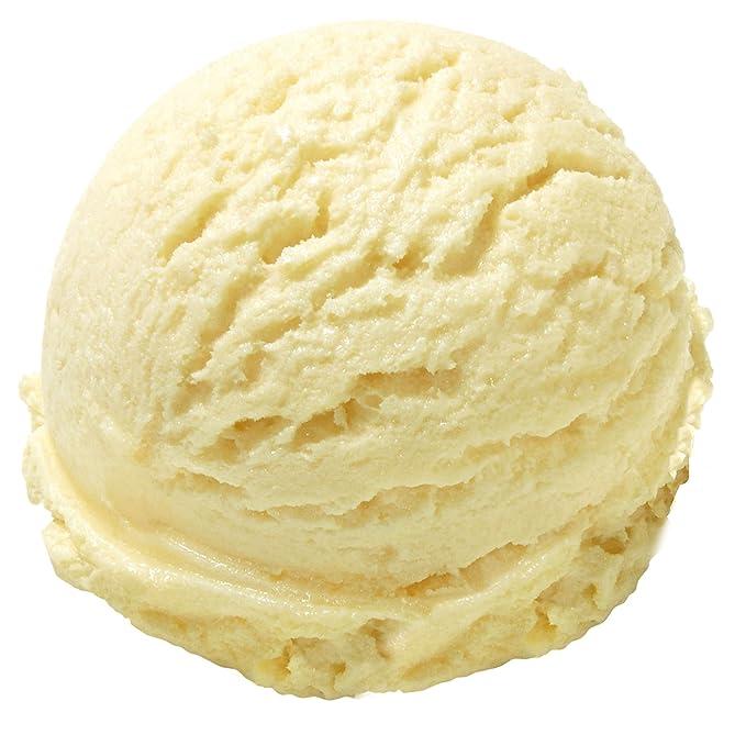 Sabor francés de vainilla 1 Kg Gino Gelati Polvo de hielo para helado de fruta Helado