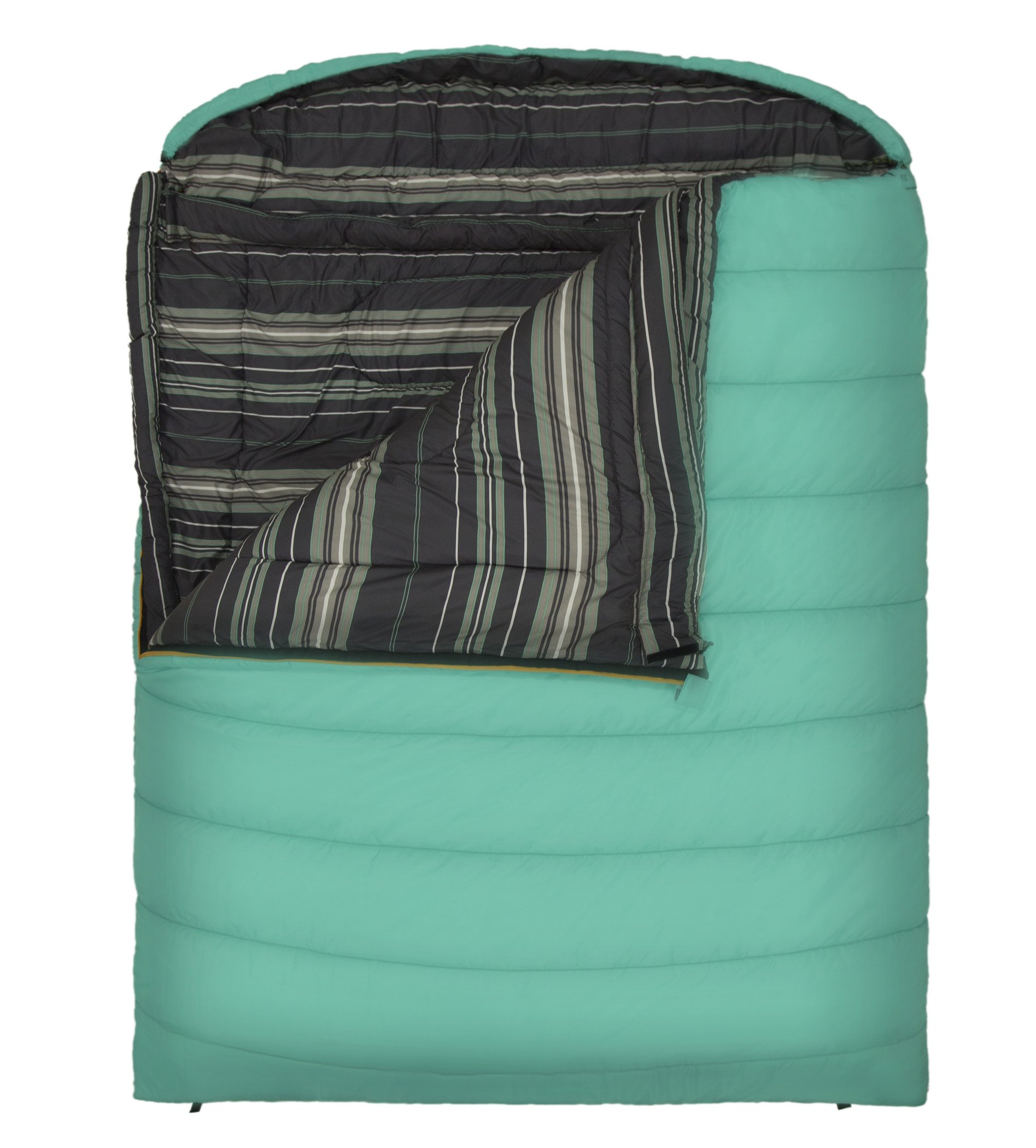 TETON Sports Mammoth Queen-Size Double Sleeping Bag; Warm and Comfortable for Family Camping 4