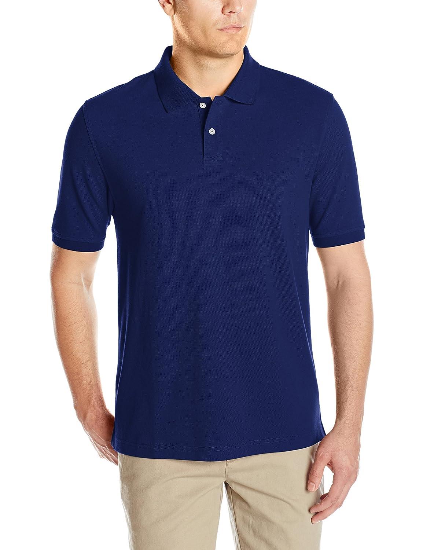 Essentials Mens Regular-Fit Cotton Pique Polo Shirt