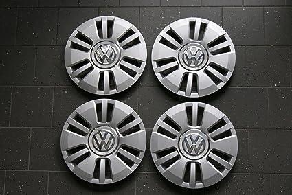 VW 1S0601147D - Lote de 4 tapacubos centrales de llanta originales ...