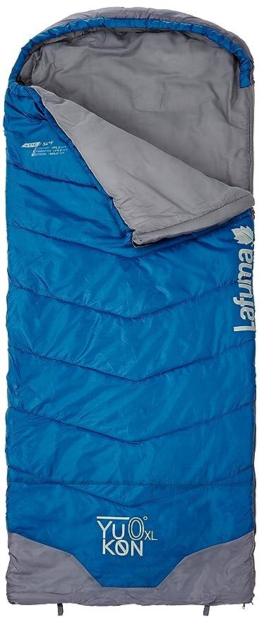 Lafuma - Saco de Dormir Yukon XL, hasta 0°C, Yukon, Bleu