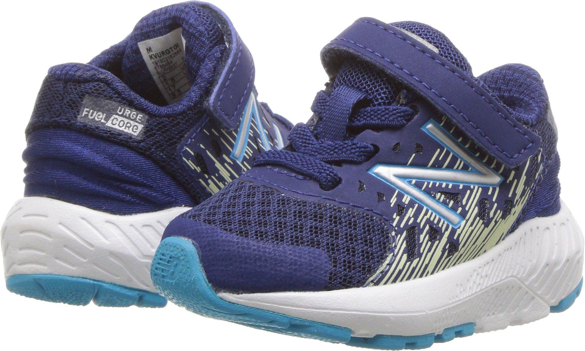New Balance Boys' Urge V2 FuelCore Running Shoe, Techtonic Blue, 6 M US Toddler