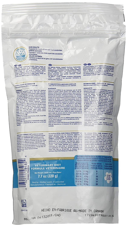 Amazon.com : ROYAL CANIN Hydrolyzed Protein Feline Treats (7.8 oz) : Pet Supplies