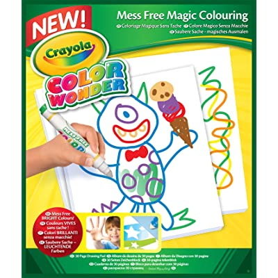 Crayola Color Wonder, Mess Free Coloring Pad, Refill Paper, 30 Blank Pages: Toys & Games