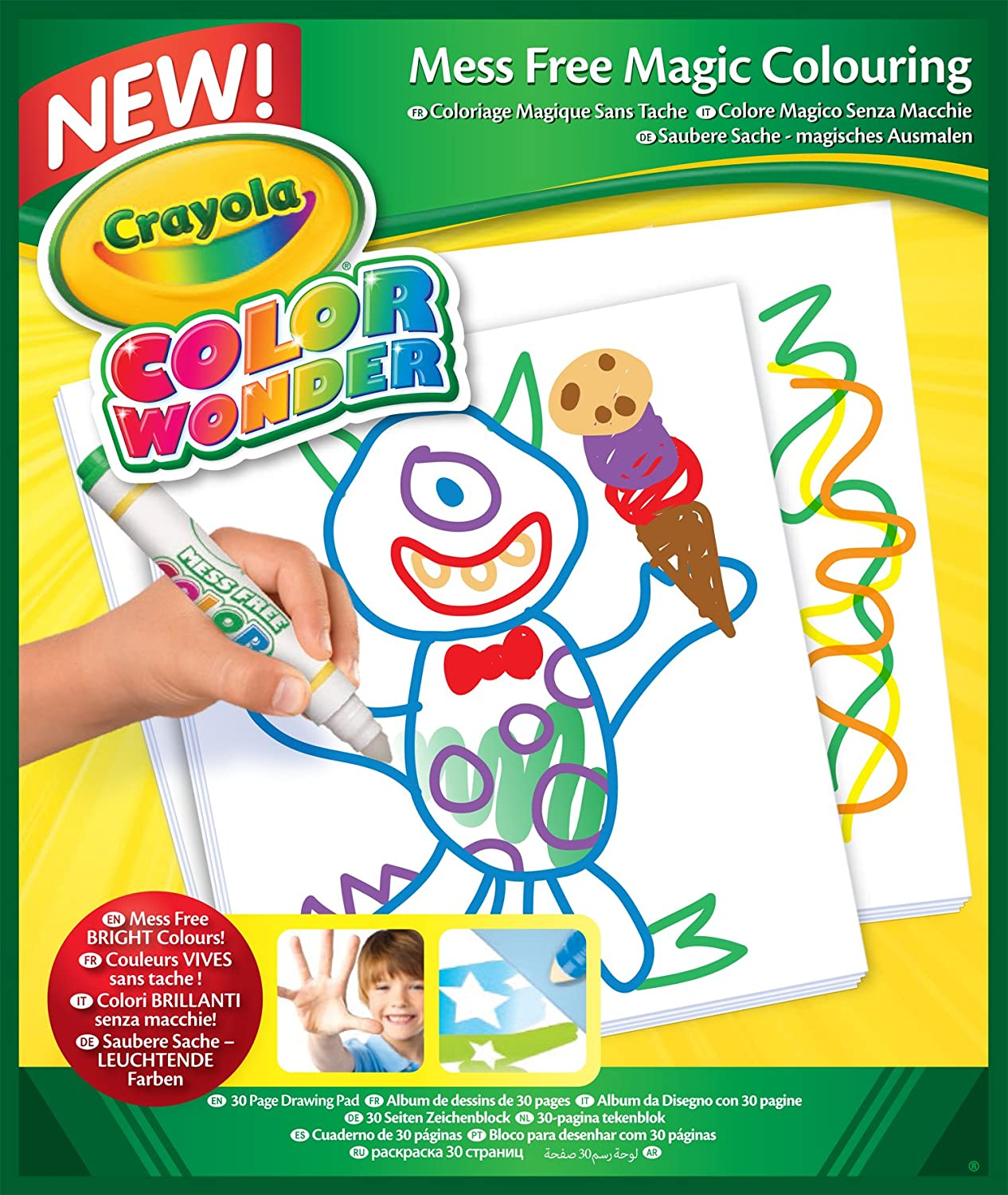 Mess-Free Coloring Pad