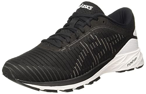 ad1b0e2da6d7 ASICS Men s Dynaflyte 2 Black White Carbon Running Shoes - 11 UK India