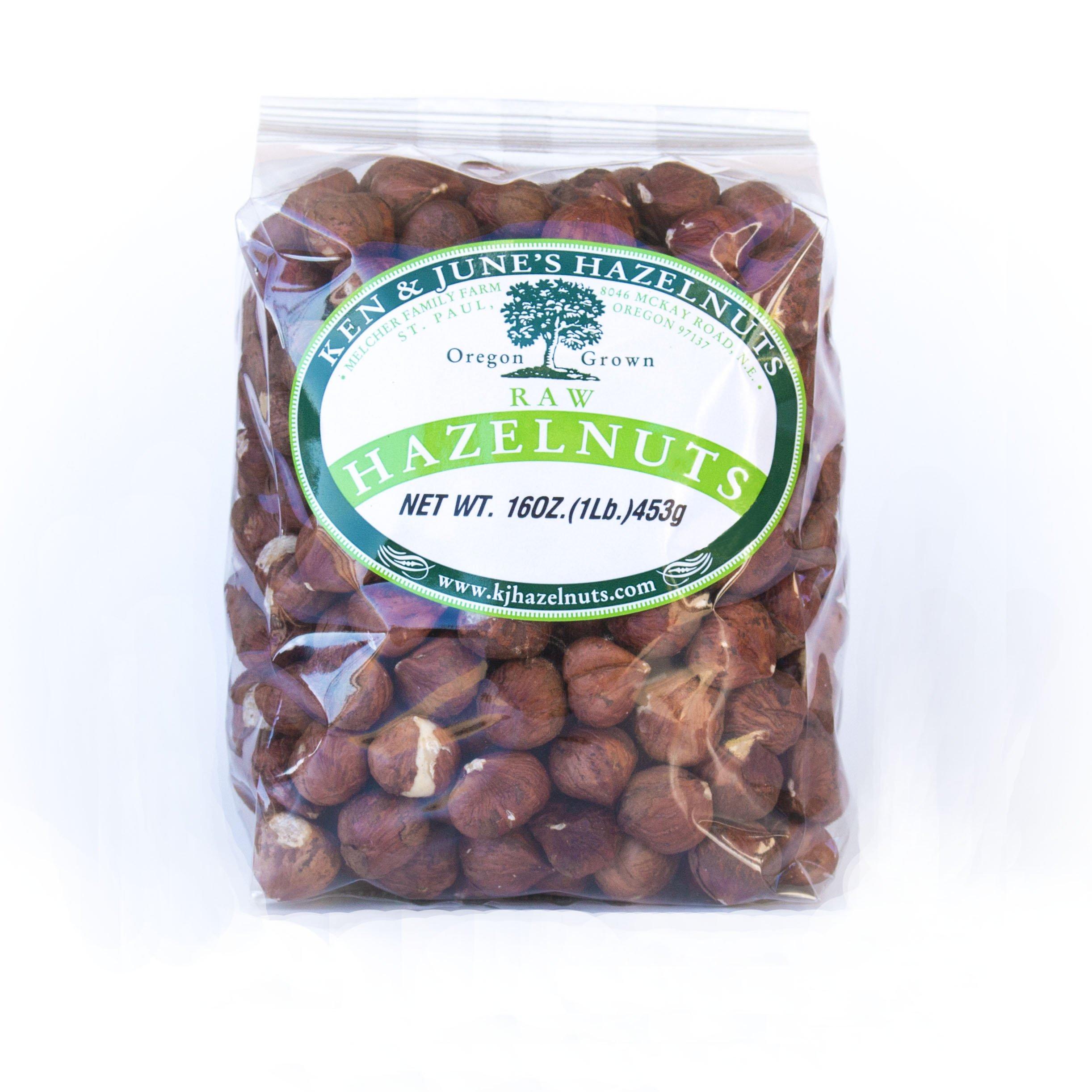 Raw Hazelnuts - 16 Oz Bag