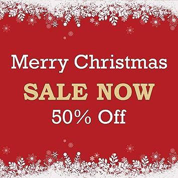 Amazon.com: Pancarta de Navidad para la venta de cereza ...