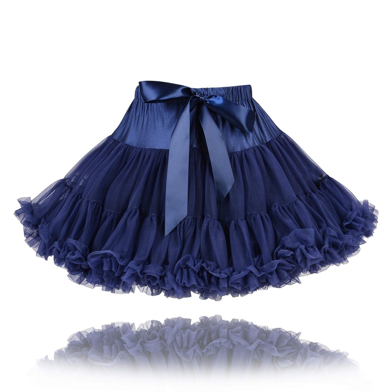 The Fairy Princess - Falda - para niña Azul Azul Marino 6/8 Años ...