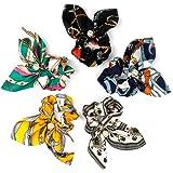Hair Ties,Hair Scrunchies for Women Girls Hair Accessories Hair Bands Satin Scrunchies