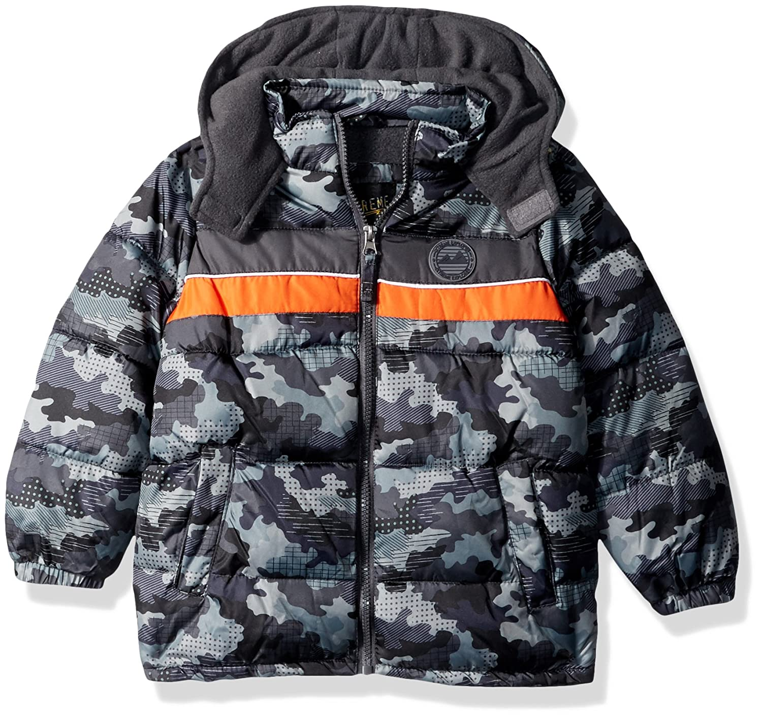 iXtreme Boys Camo Puffer W//Rubber Patch 94311