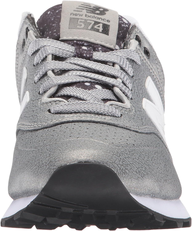new balance 574 gradient argento
