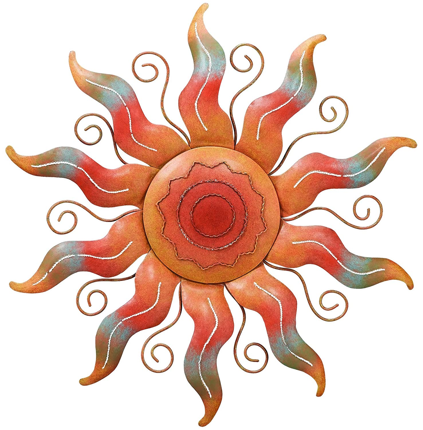 Amazon.com : Regal Art &Gift Sun Wall Decor : Wall Sculptures ...