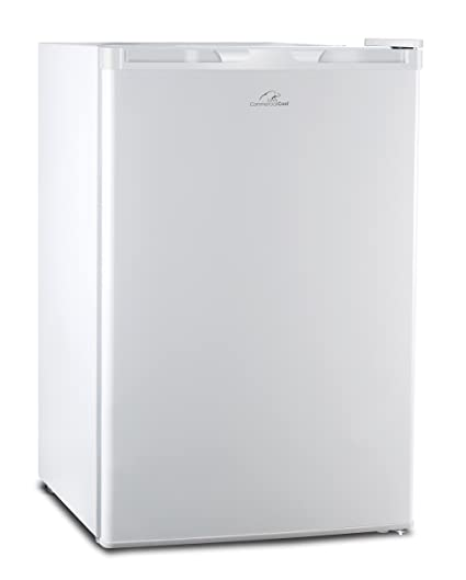 Commercial Cool CCR45W Compact Single Door Refrigerator And Freezer, 4.5  Cu. Ft. Mini