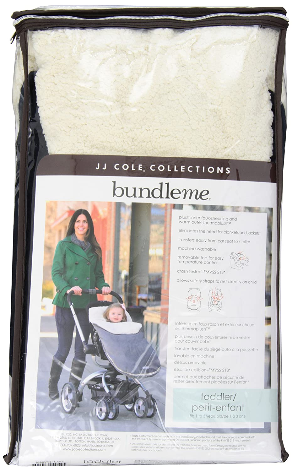 JJ Cole Jj Cole Original Bundleme Infant Graphite