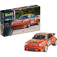 Revell Maqueta Porsche 934 RSR Jägermeister, Kit Modelo