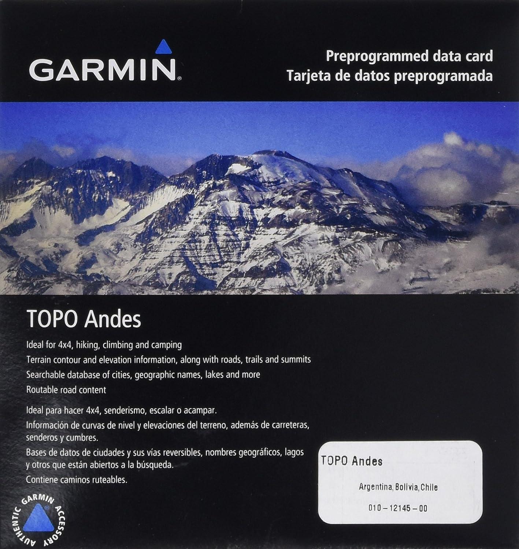 Garmin Topografische Vektorkarte Topo Anden - GPS de mano, talla standard
