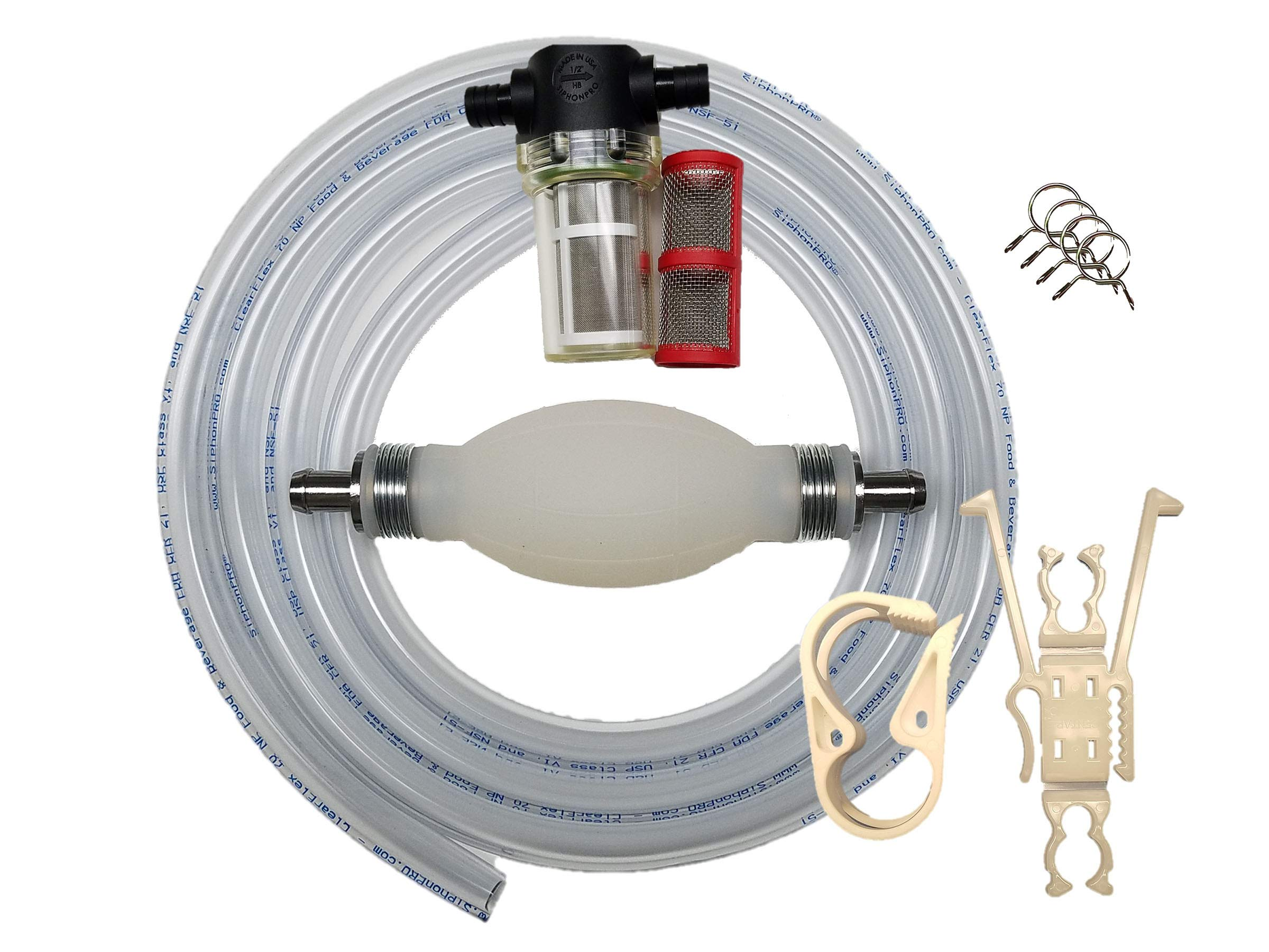 Siphon Pro Beverage & Potable water food grade siphon and pump by GasTapper