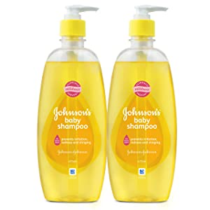Johnson's Baby No More Tears Shampoo (Pack of 2, 475ml)