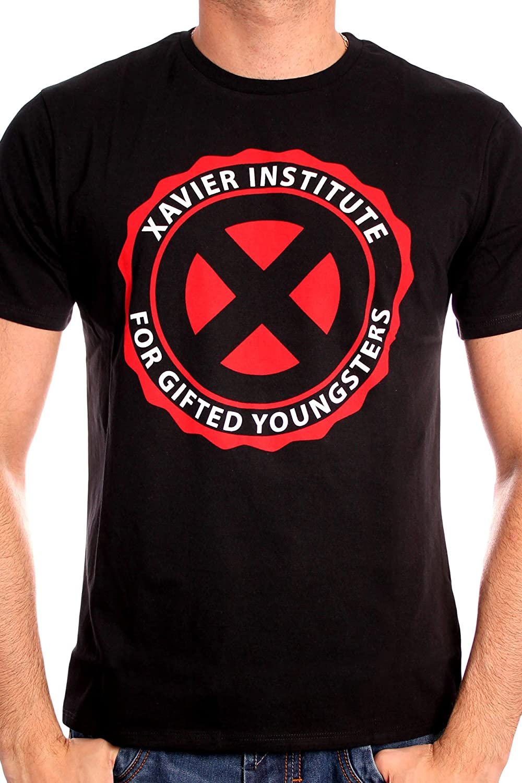 Marvel Men's Xavier Institute Short Sleeve T-Shirt MEXMENCTS001