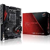 ASUS ROG CROSSHAIR VII HERO - carte mère GAMING (AMD Ryzen X470 Socket AM4 ATX DDR4, Aura Sync)