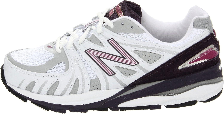 Nuevo Equilibrio De Zapatos W1540 Corrientes De Las Mujeres Blanca / Púrpura C4xLdt