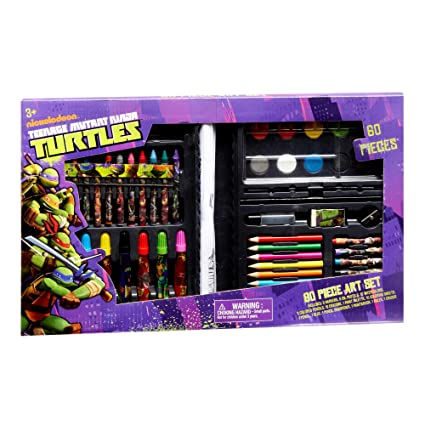Amazon.com: Teenage Mutant Ninja Turtles Art Set