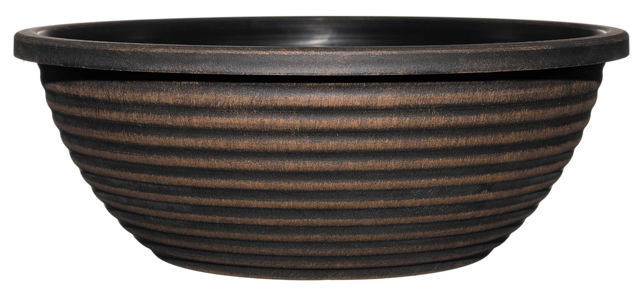 GARDENGOODZ Dorado Planter, 17-inch Large Bowl, Antique Copper by GARDENGOODZ