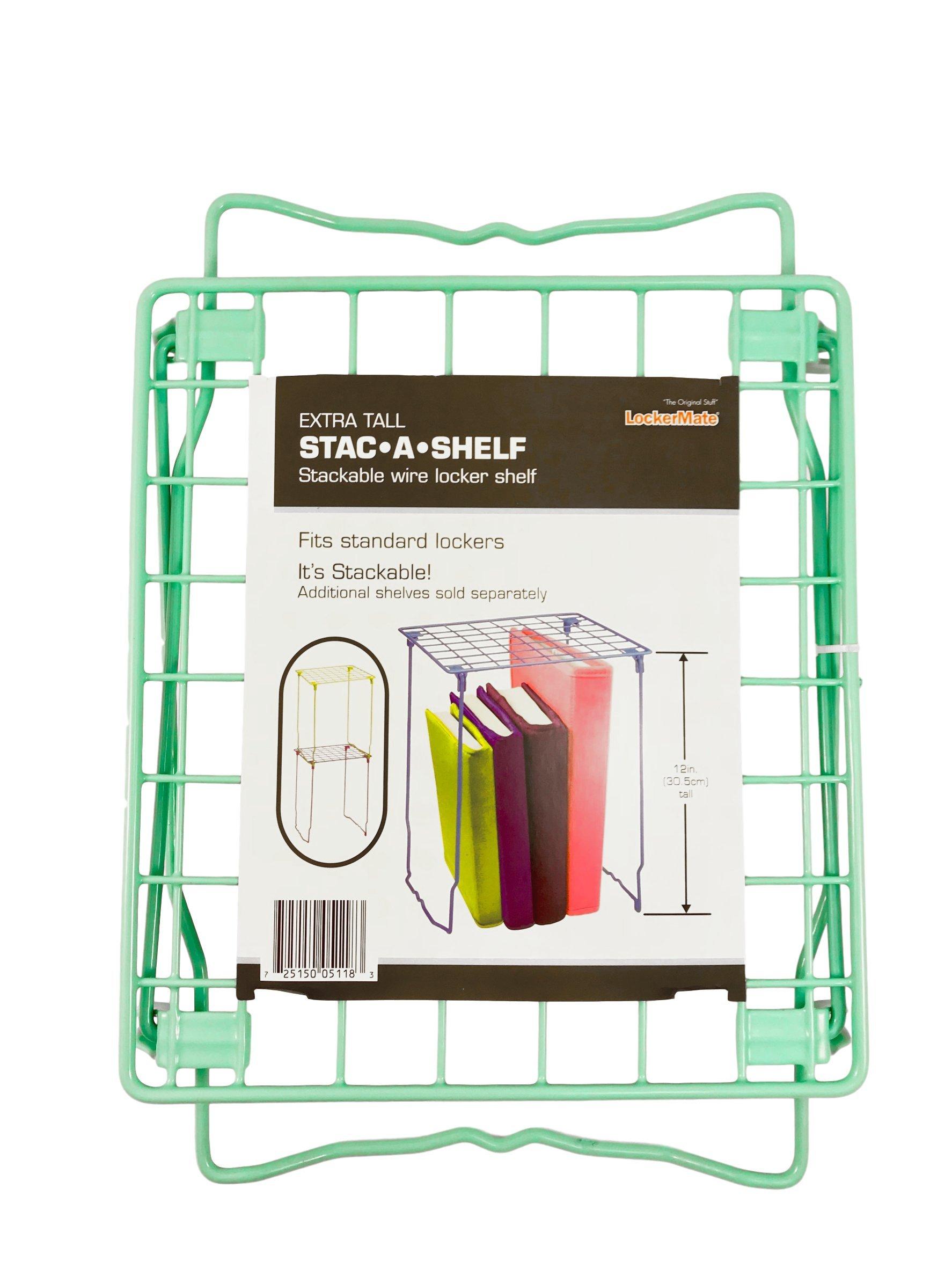 School Locker Shelf 12 inch Mint Green
