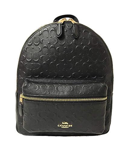 32fec7bc7ddd Amazon.com  Coach F30550 Medium Charlie Backpack (IM Black)  Shoes
