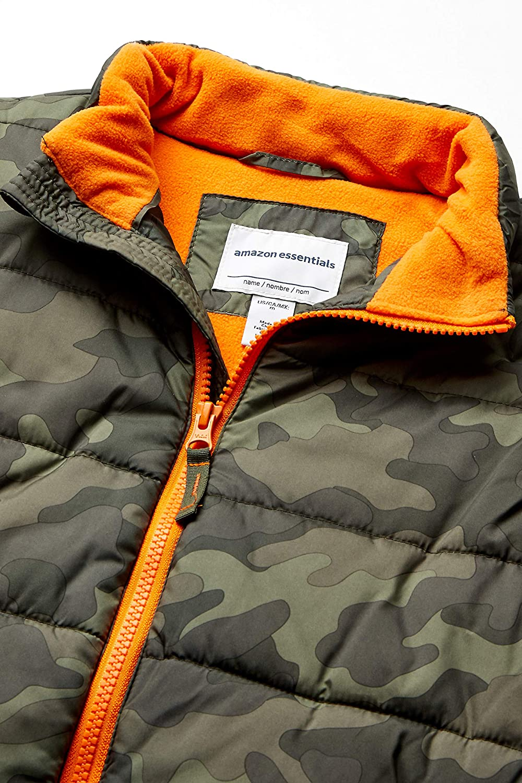 camouflage Essentials Heavy-Weight Puffer down-outerwear-vests 4T