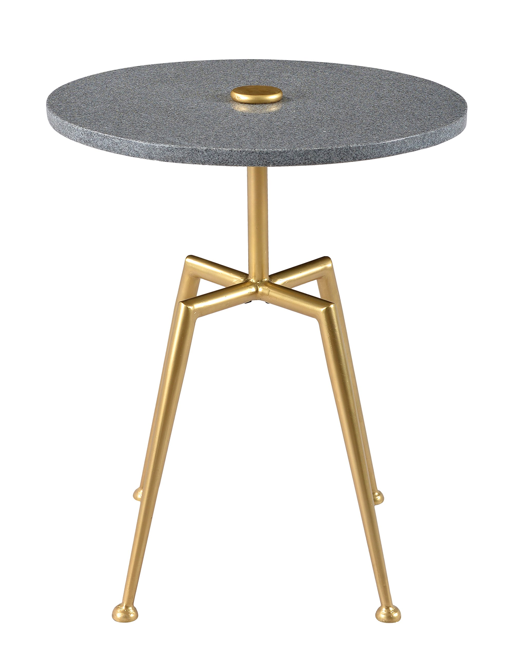 Treasure Trove Table, Silver/Gold - Silver/Gold Marble/Metal Modern Style - living-room-furniture, living-room, console-tables - 81V8tyie4nL -