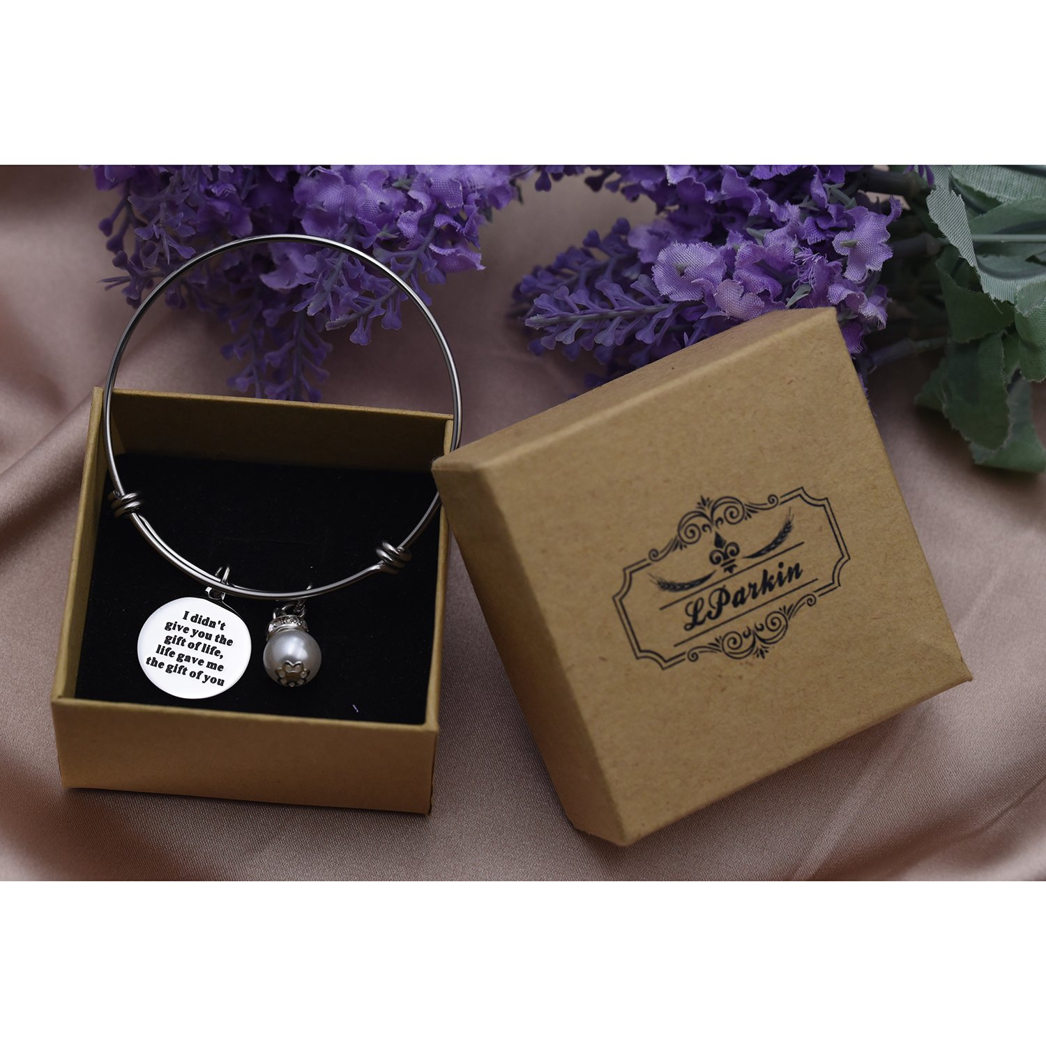 Amazon.com: Step Daughter Gifts From Stepmom Stepdaughter Bracelet ...