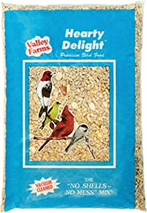 Valley Farms Hearty Delight Wild Bird Food - 4 LBS