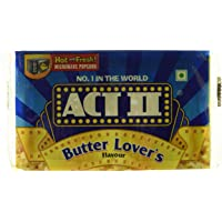 ACT II Microwave Popcorn Butter Lovers, 99g